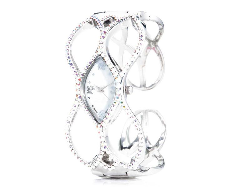 Designer Swarovski Crystal Web Watch