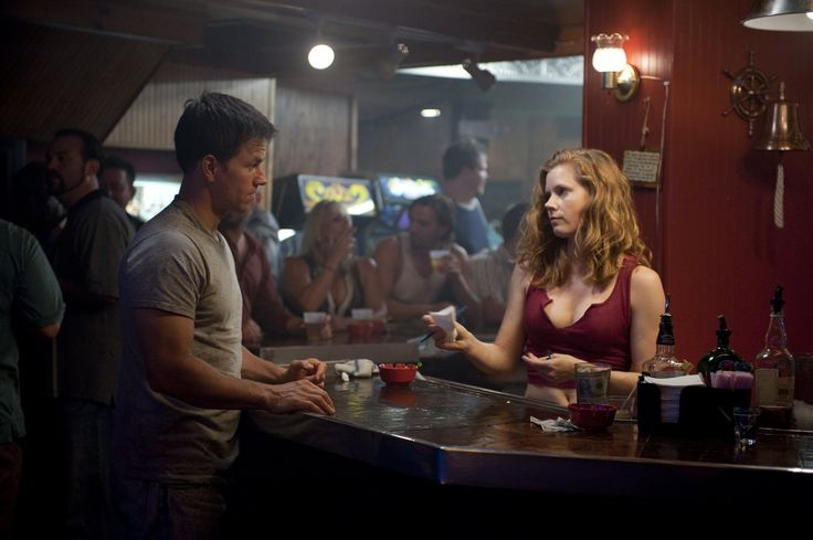 """The Fighter"" movie still, 2010.  L to R: Mark Wahlberg, Amy Adams."