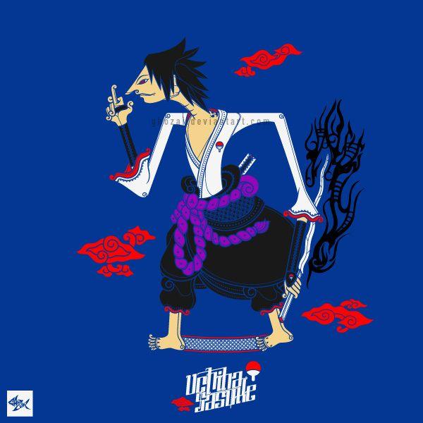 Sasuke Wayang - Team 7 on Behance full project >> http://bit.ly/1iq5Oeg