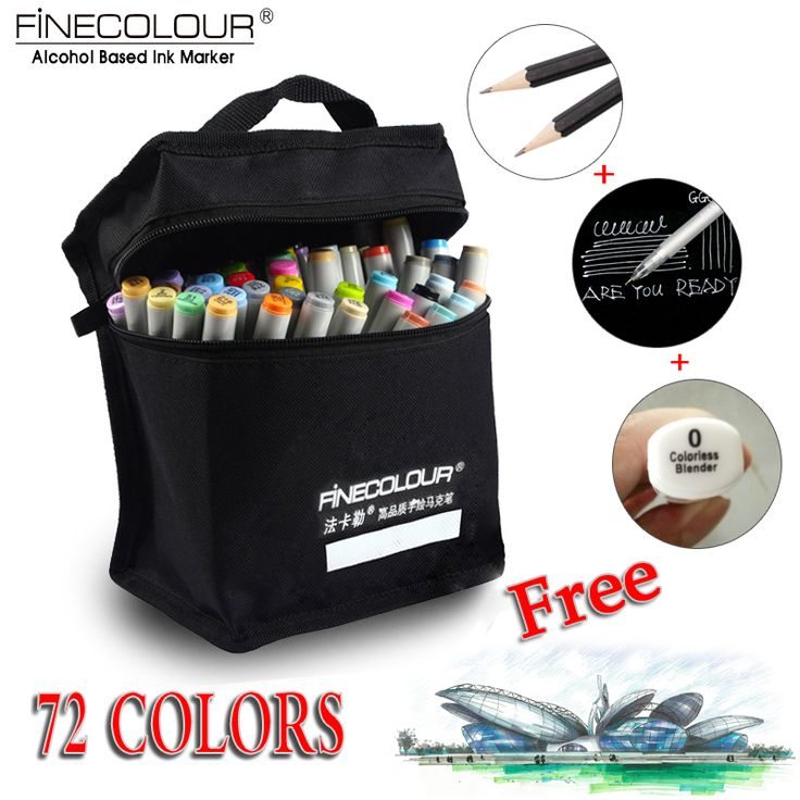 Find More Art Markers Information about FINECOLOUR Artist Double Headed Sketch Copic Marker Set 36 48 60 72 Colors Alcohol Based Manga Art Markers for Design Supplies,High Quality sketch copic markers,China art markers Suppliers, Cheap design art markers from Bianyo Painting Material Store on Aliexpress.com