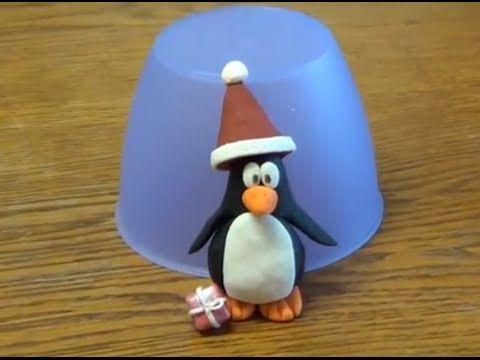figuren modellieren pinguin mit weihnachtsm tze schritt f r schritt anleitung youtube. Black Bedroom Furniture Sets. Home Design Ideas