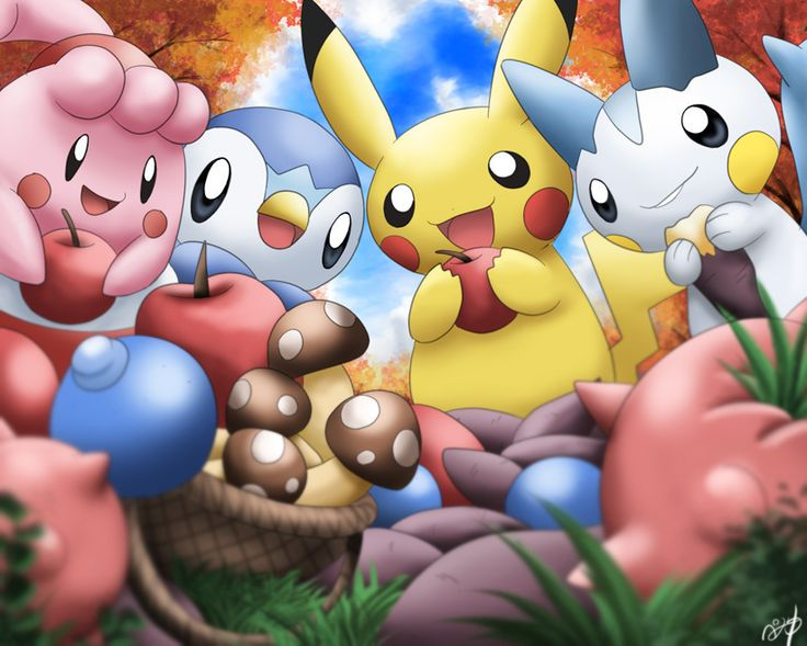 pokemon pictures | Official Pokemon Twitter Account And Facebook Page Open | My Nintendo ...