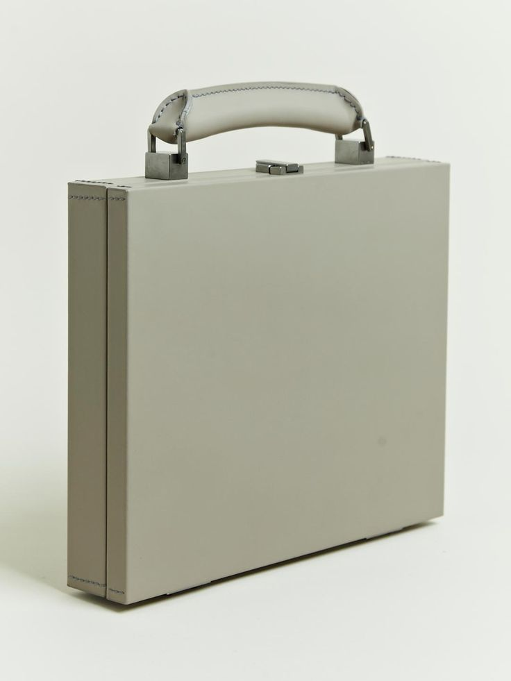 ✕ Lanvin Men's Monsieur Small Briefcase, however, I could carry it in a moment! Chic with a trench & decadent heels! / #design #accessories #briefcase