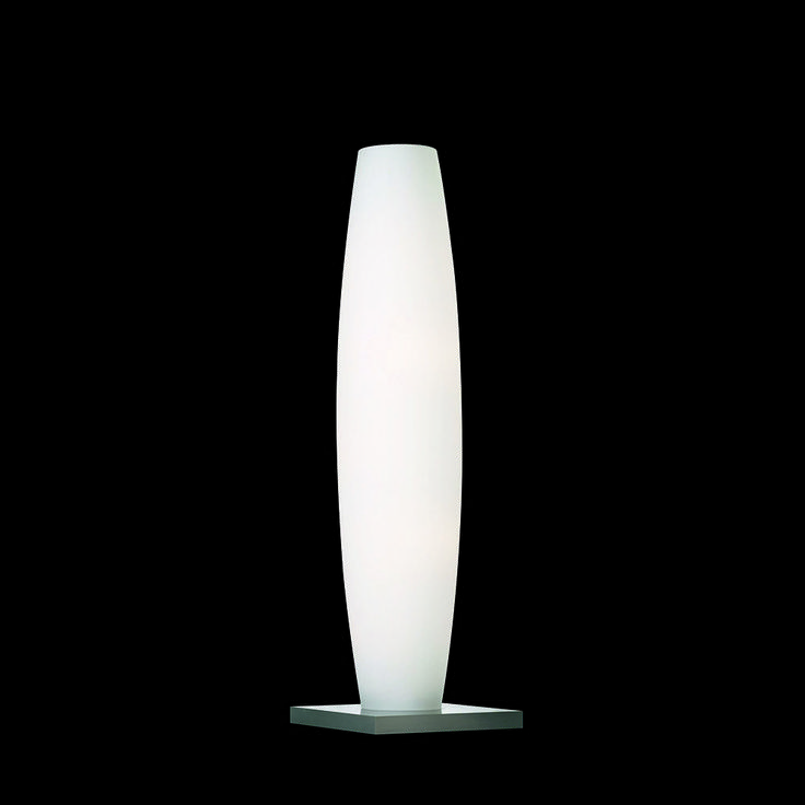 Dimmbare Standleuchte mit LED-Leuchten 4-flammig LED und opal Glas