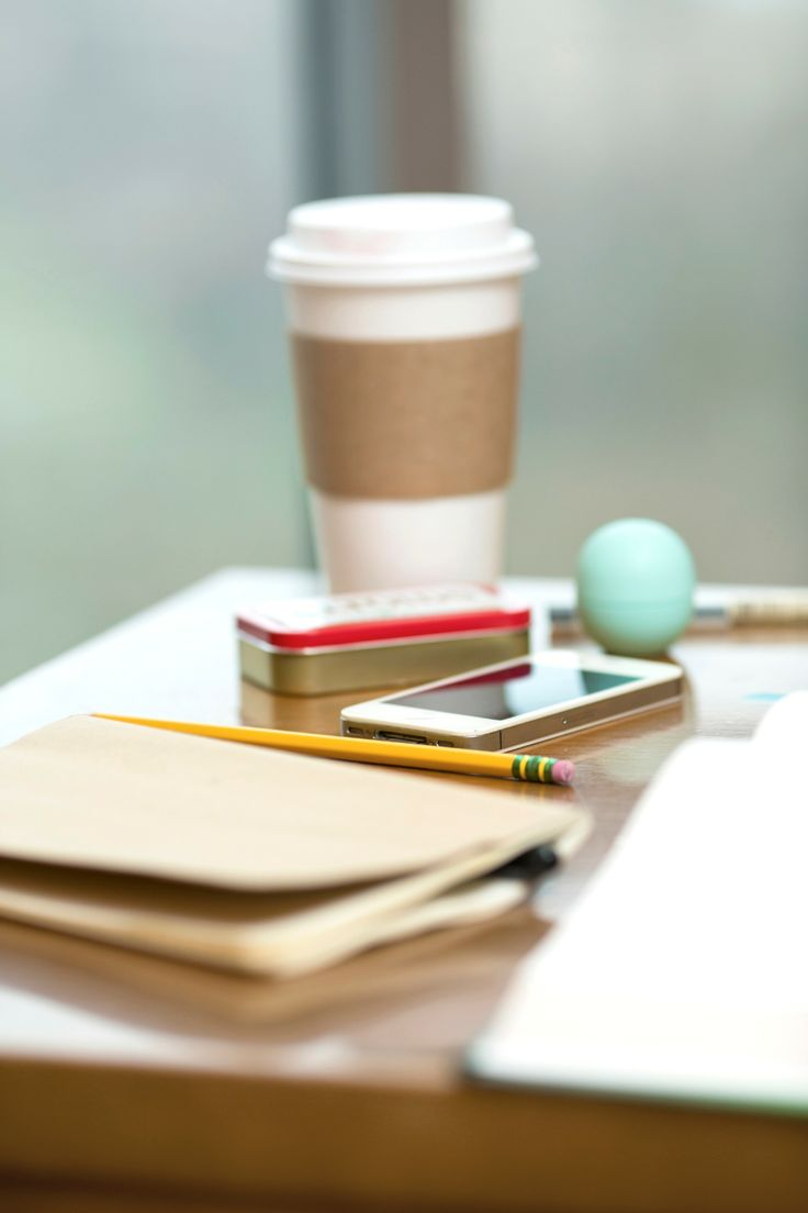 Coffee, lip balm, mints, and a good attitude - Study Time Essentials