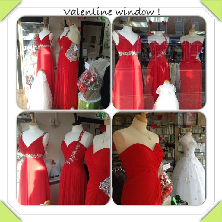Our valentines themed window