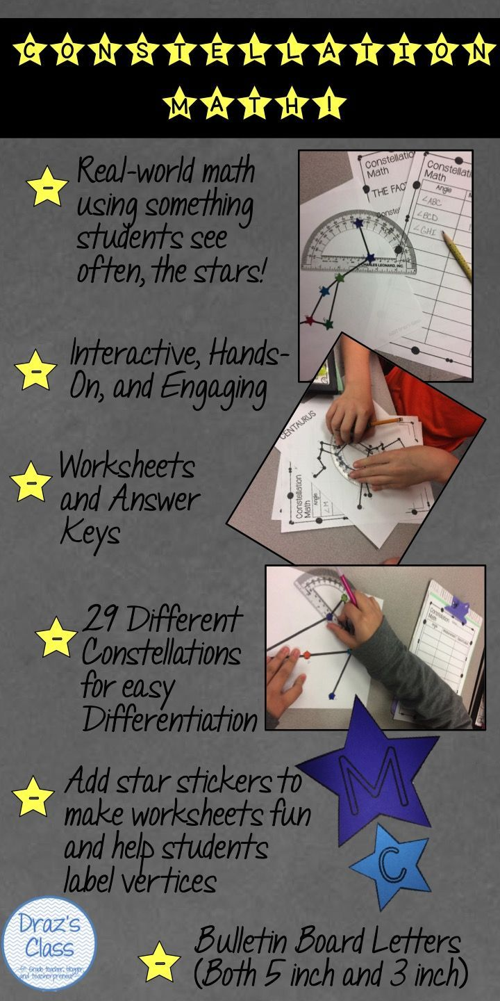 Living Things And Nonliving Things Worksheet  Terbaik Ide Tentang Protractor Di Pinterest  Angles Dan Matematika Reading Comprehension For 2nd Grade Free Worksheets Pdf with Sentence Types Worksheet Excel Constellation Math Measuring Angles In The Stars Double Consonants Worksheets