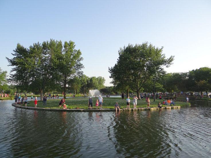 Halleck Park Papillion Park Canal Papillion