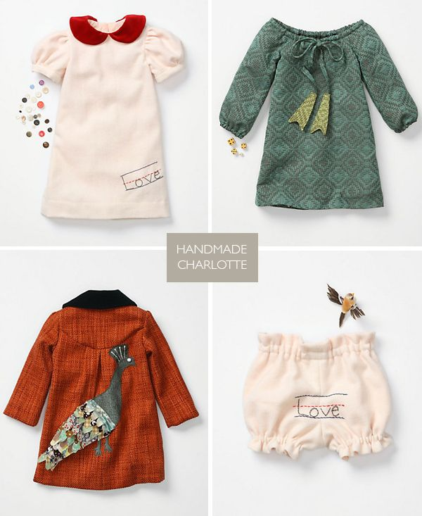 probably the cutest baby girl clothes I've seen: Cutest Baby, Baby Girls Clothes, Handmade Charlotte, Girls Clothing, Children Clothing, Baby Clothing, Autumn Color, Kids Clothing, Baby Boy