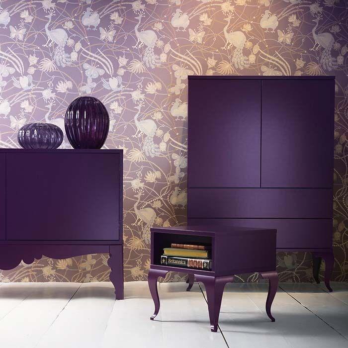 Все оттенки фиолетового в дизайне интерьера