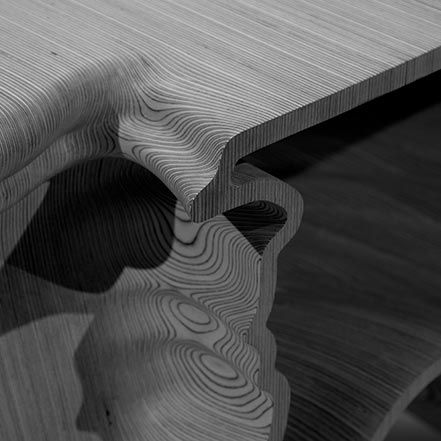 Material Matters: Wood #manser #wood #timber #london #v&a #birch #plywood #cnc #machine #carve #layer