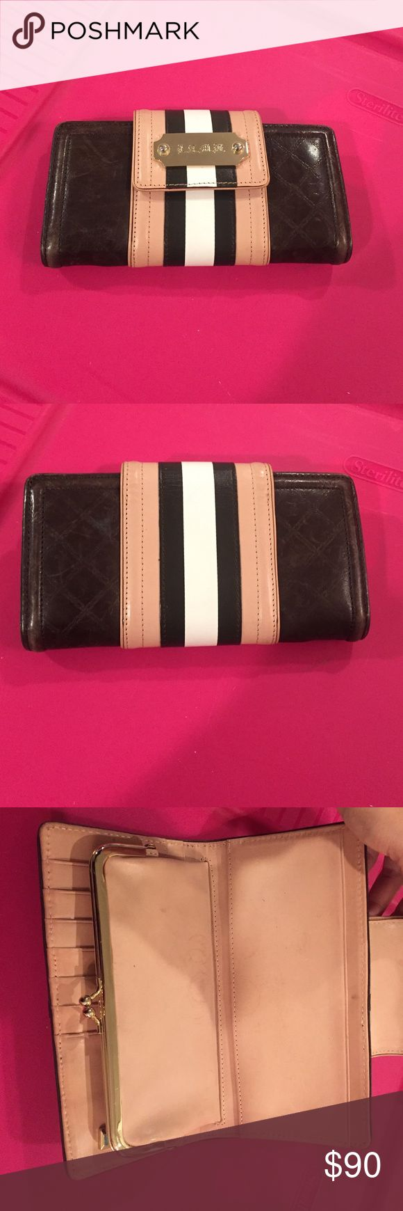 Lamb wallet Has some signs of wear on the inside. Outside is in great condition. The matching purse is listed as well. lamb Bags Wallets