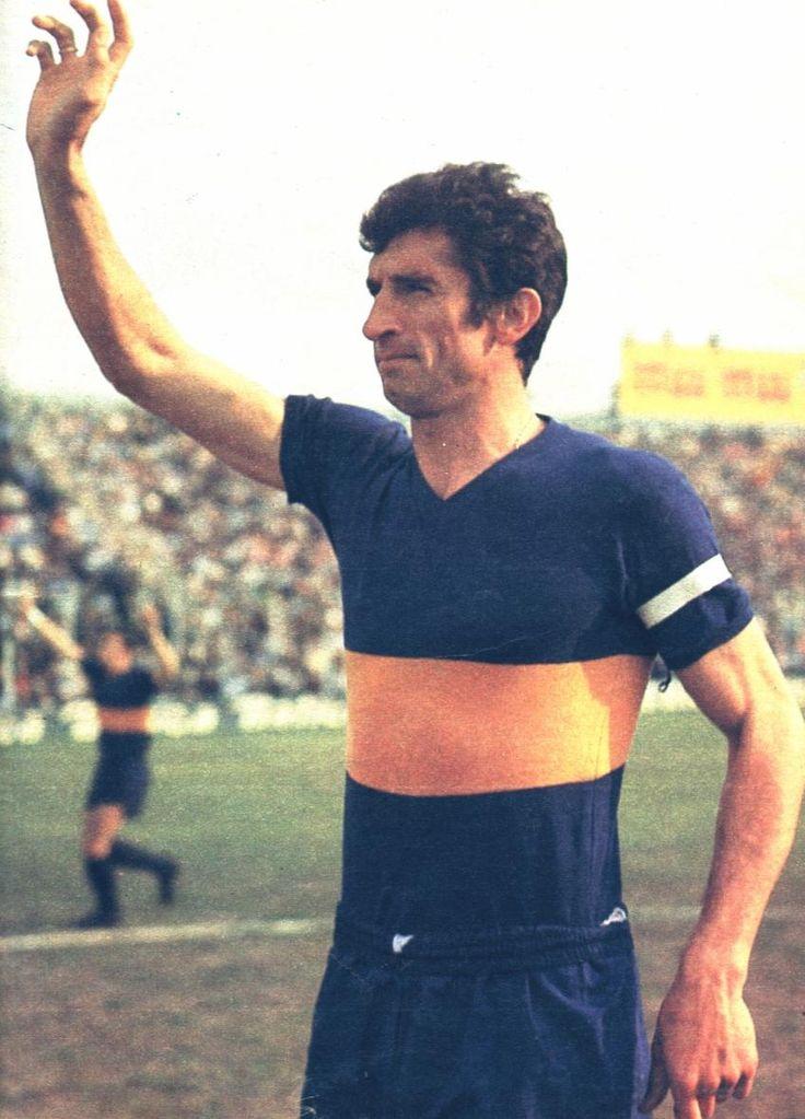 FÚTBOL. Antonio Rattín, símbolo de #Boca.