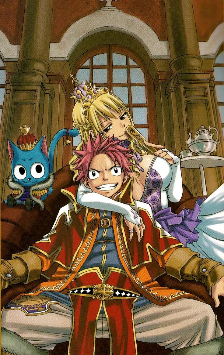 Manga fairytail natsu lucy happy anime pinterest happy love this and fairytail - Fairy tail fantasia ...