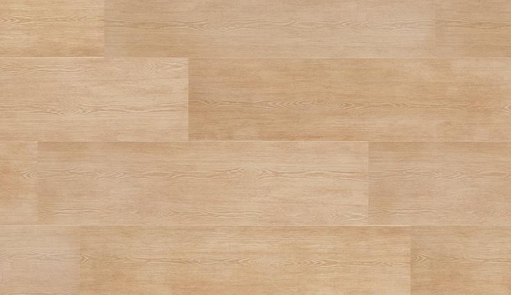 Pavimento gres porcellanato effetto legno - rovere naturale. Anche le fughe dello stesso colore del legno
