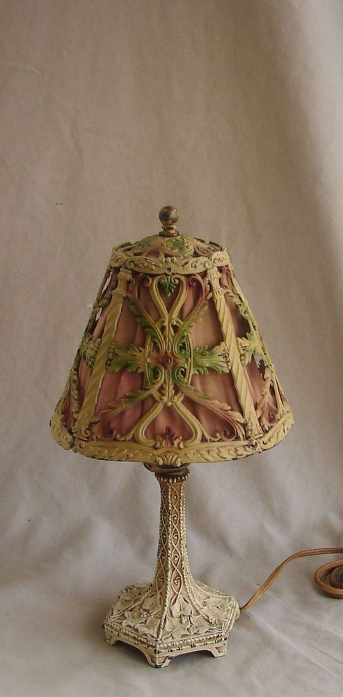 vintage 1920u0027s or 30u0027s boudoir table lamp - Lamp Shades For Table Lamps