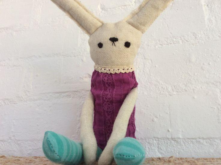 Bunny Soft Toy by Poprikot on Etsy