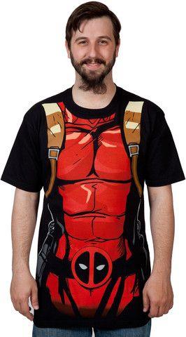 Deadpool Costume Shirt – 80sTees.com, Inc.