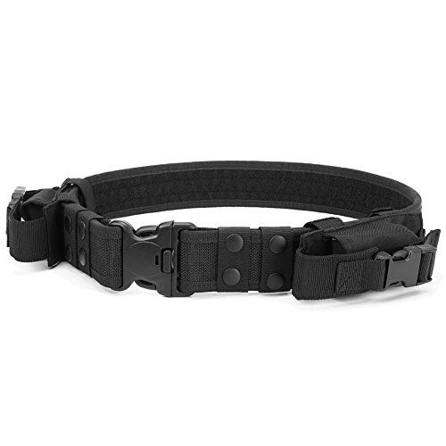 Heavy Duty Tactical Belt Adjustable Military Army Police Uniform Airsoft Utility Waist Belts with Dual Mag Pouches   https://huntinggearsuperstore.com/product/heavy-duty-tactical-belt-adjustable-military-army-police-uniform-airsoft-utility-waist-belts-with-dual-mag-pouches/