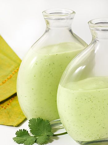 Cilantro Lime Dressing - Deliciously Different