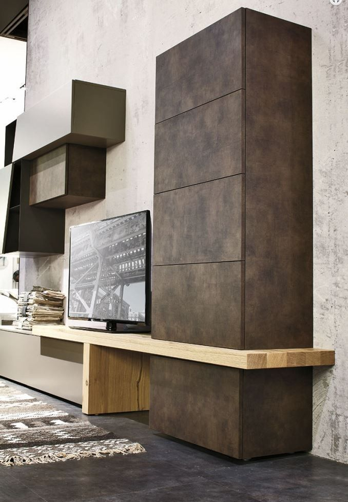 Modular and versatile elements that can satisfy any storage requirement - New Tomasella collections