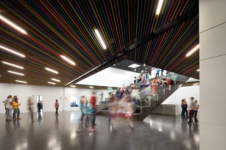 Gallery - Bundesgymnasium Gainfarn - Bad Vöslau / Franz Architekten - 14