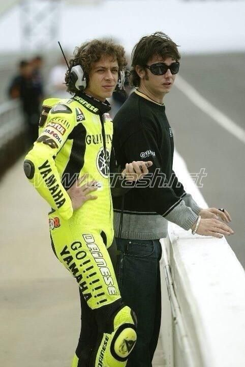 Vale and  Uccio..... time goes by
