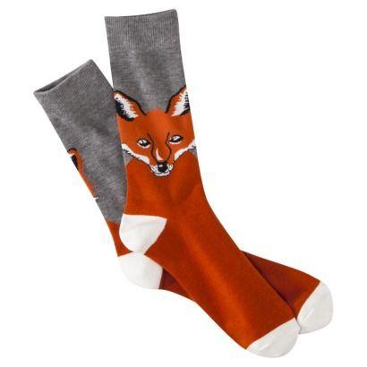 Fox on socks!