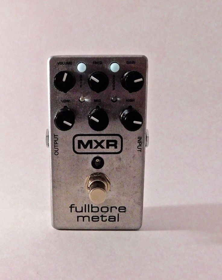 Dunlop MXR Fullbore Metal Distortion Guitar Effect Pedal