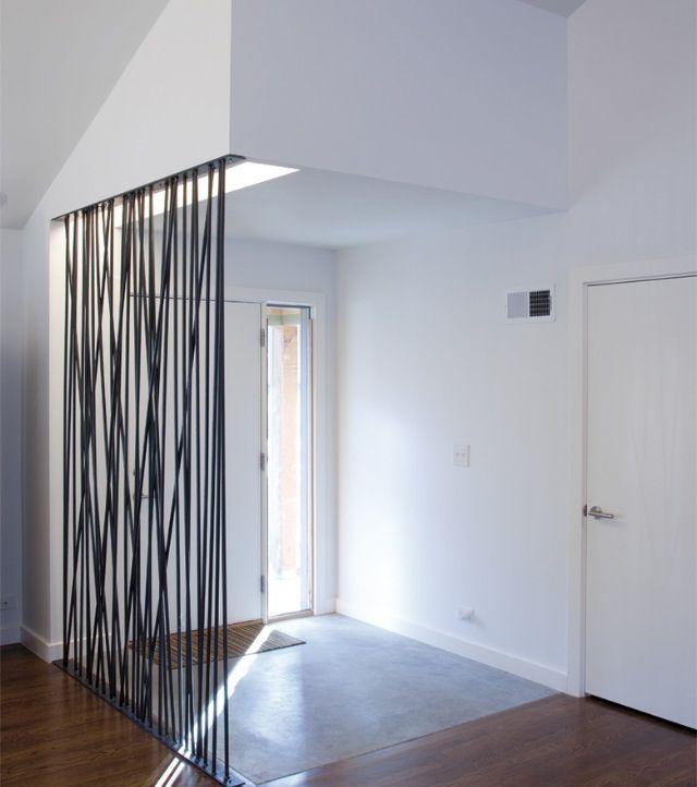 Metal Screen Room Divider Materiality Steel