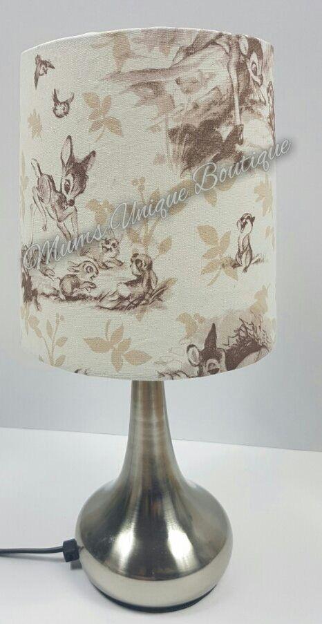 Bambi Touch Lamp Night Light Switch Lamp Nursery Lamp Light