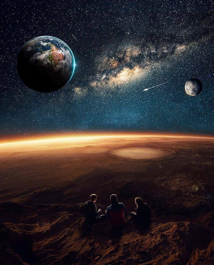 будут фото космоса и планет развести костер