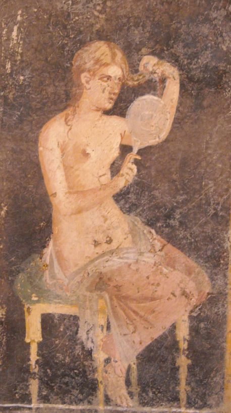 Quot Woman Combing One S Hair Quot From The Villa Of Ariadne At