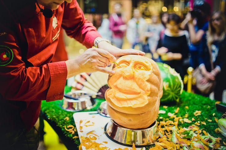 "Pokaz artystycznego carvingu :) ,,Apetyt na Manhattan"""