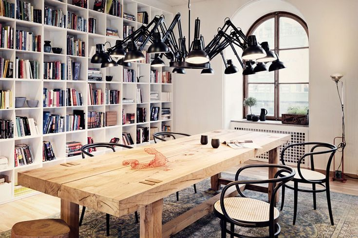 Love the chairs & love the chunky, heavy table