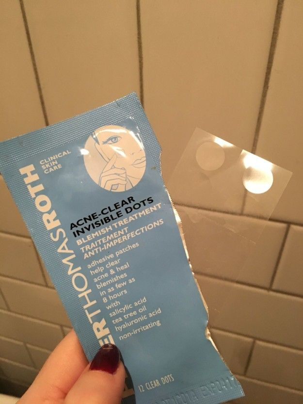 Peter Thomas Roth Acne-Clear Invisible Dots are magical, translucent patches that reduce and flatten your pimples overnight, so they have zero chances of ruining an important day. | 8 Amazing Beauty Products You'll Wish You'd Known About Sooner