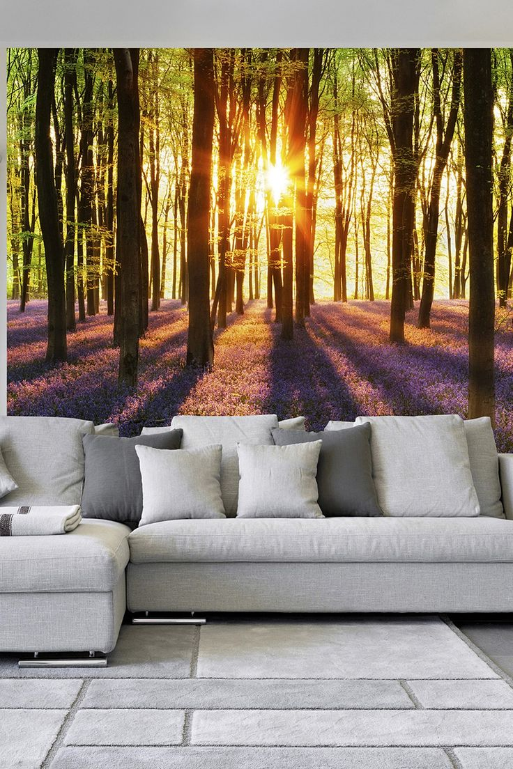 Woodl& at Dawn Wall Mural by Brewster Home Fashions on @HauteLook