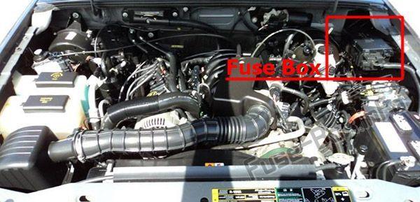 Ford Ranger 2006 2011 Fuse Box Location Ford Ranger Fuse Box Ranger