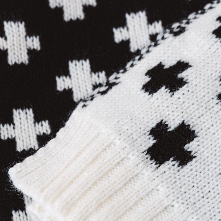 Knitted Wool Blankets Modern Handmade Ceramics by MinkaInhouse