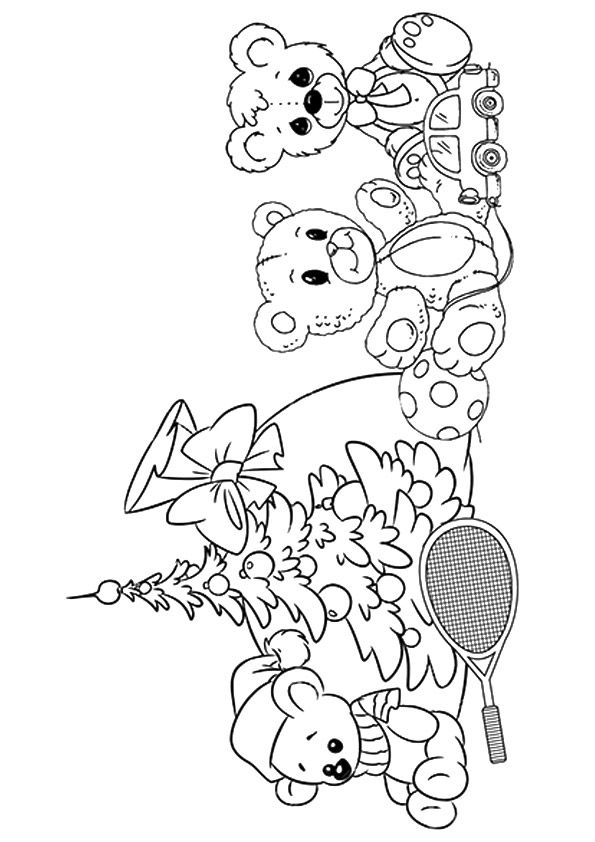 Top 18 Teddy Bear Coloring Pages Your Toddler Will Love To Color Coloring Coloringpages Toddle Teddy Bear Coloring Pages Bear Coloring Pages Coloring Pages