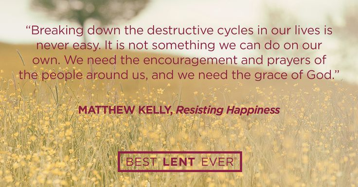 Share Dynamic Catholic with your friends! Breaking the Cycle | Best Lent Ever