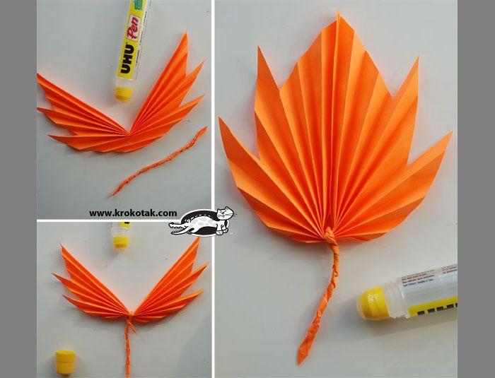 Осенние оригами. Поделки из цветной бумаги | Материнство - беременность, роды, питание, воспитание