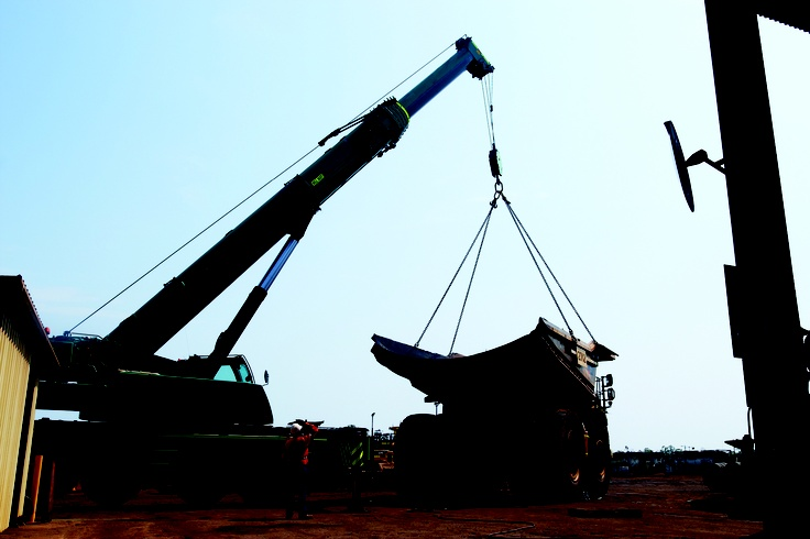 After completing our #Mobile-slewing crane courses participants are awarded their #C2, #C6, #C1 or #C0 crane licence.