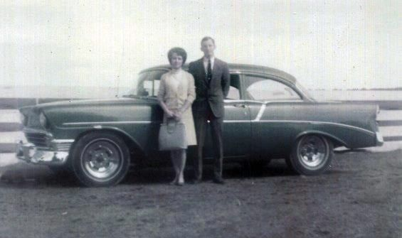 A couple, their car, and 50 years...