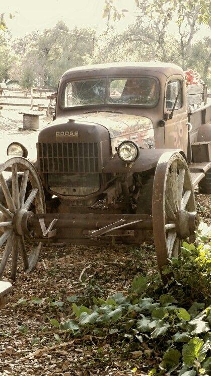 Old Dodge truck. Picture taken in Wynola, Ca.