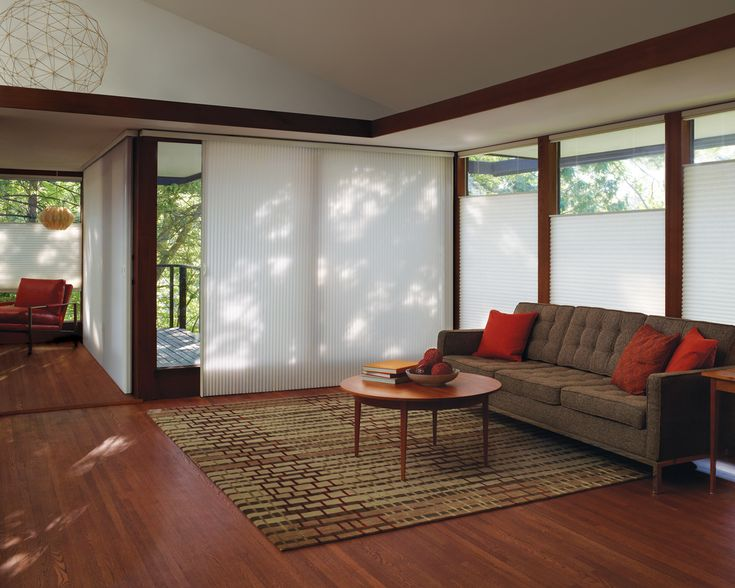 Best Hunter Douglas Honeycomb Blinds Images On Pinterest - Hunter douglas blinds for patio doors