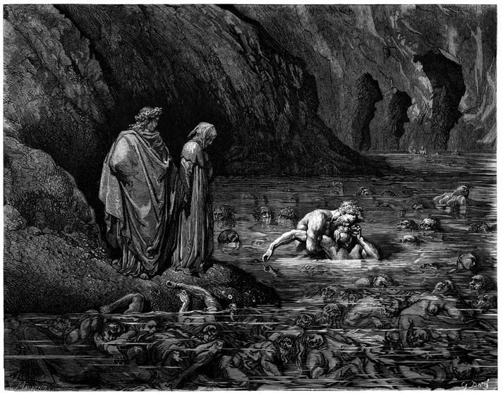 Иллюстрации к книге Данте «Божественная Комедия»