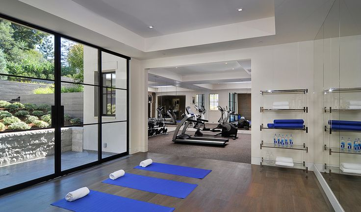 Ordinary C.b. Home Design Part - 2: Find Your Zen At Home -- Home Gym With A Separate Yoga Room
