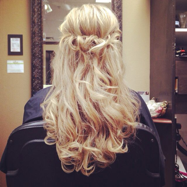 My prom hair (2014)