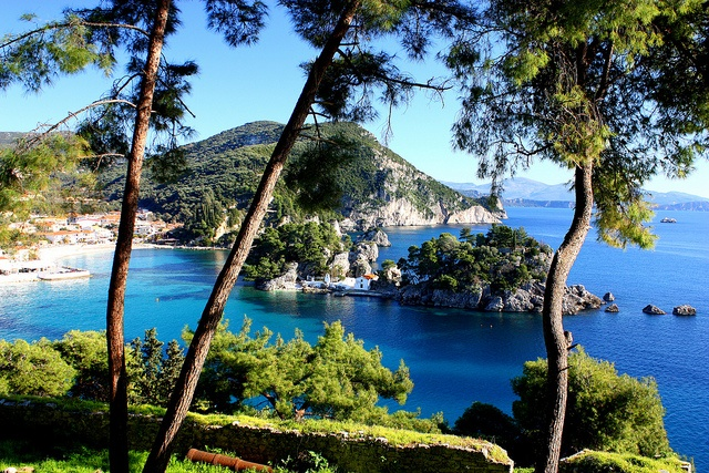 Parga, Greece  One of my favorite places back home. So many memories here <3